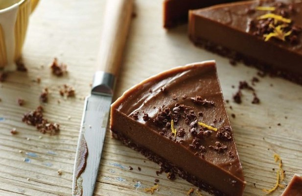 Tess Master's Gluten-Free Raw Chocolate–Orange Torte + A Cookbook Giveaway!
