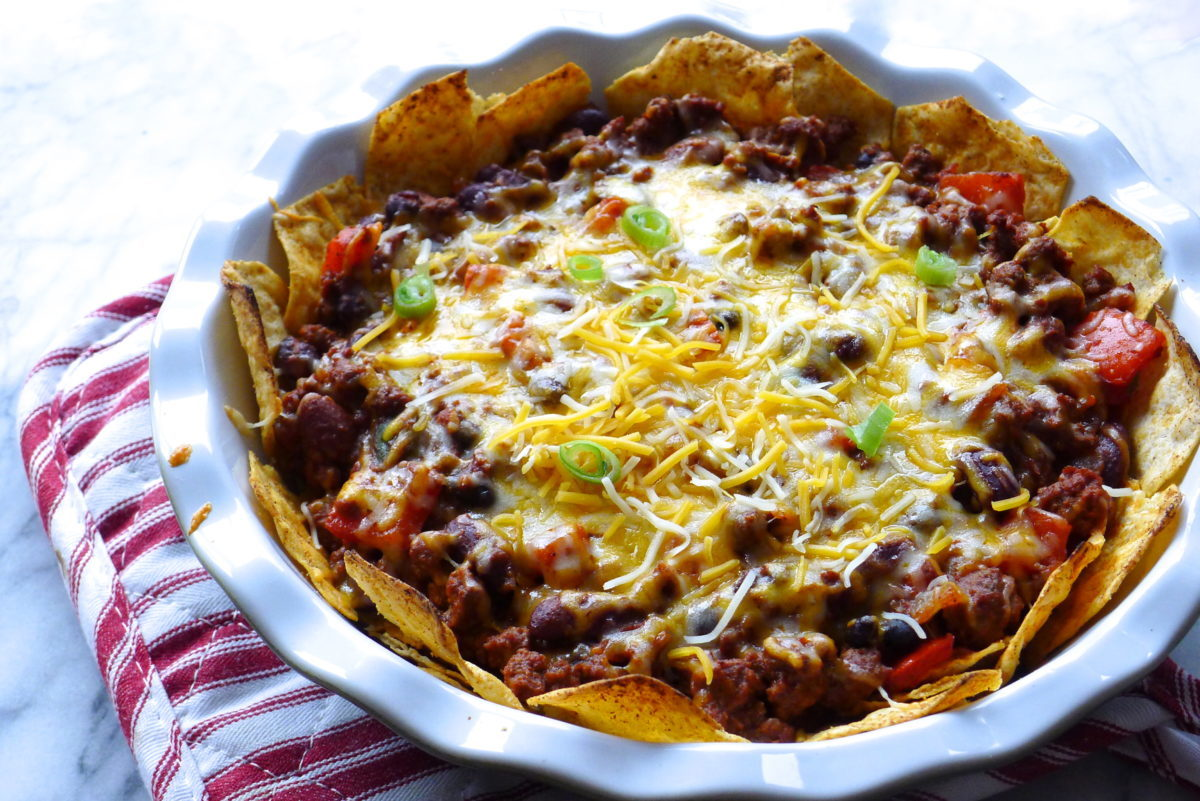 Nacho Chili Pie