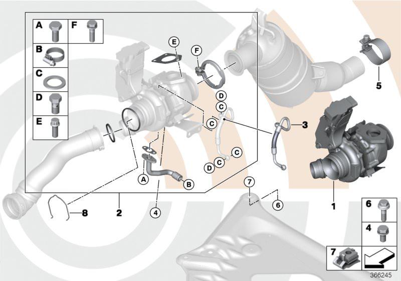 turbocompressore x3 e83