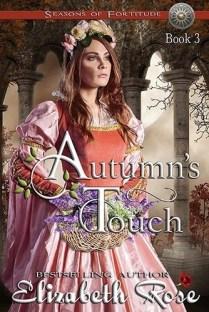 elegant woman in medieval era dress.