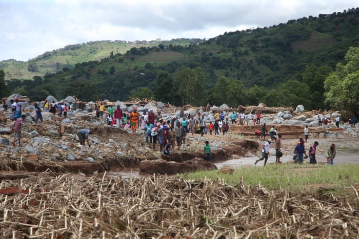 cyclone Idai survivors in Chimanimani pick up whats left of their livelihoods