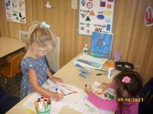 Creative activities at Silveira School