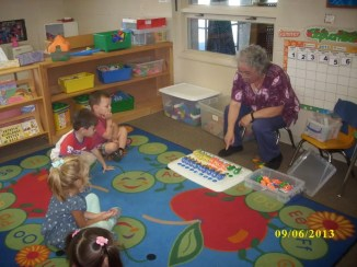 Small group learning at Silveira School