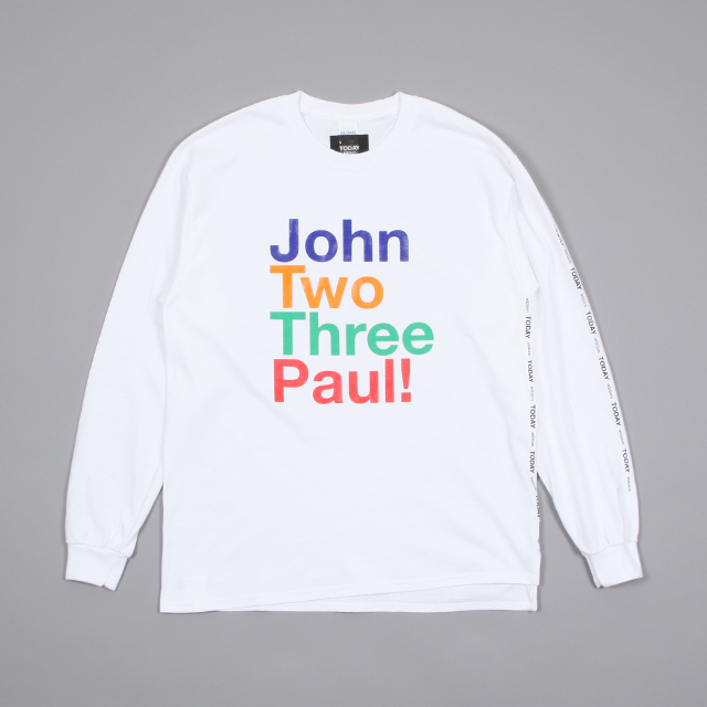 TODAY edition JOHN L/S TEE[te2-02]