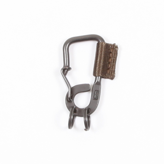 hobo Brass Carabiner Key Ring with Nylon Tape [HB-A2803]