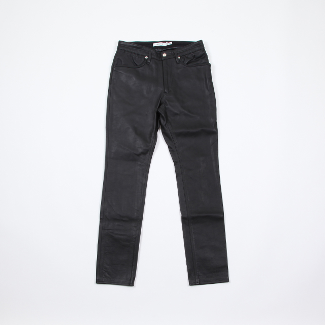 nonnative DWELLER 5P JEANS DROPPED FIT COW LEATHER [NN-P3429]