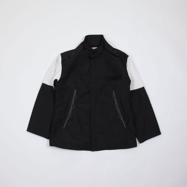 KIKO KOSTADINOV KUTCH PARKA CHROME BLACK/SMOKE WHITE [KKSS19J05-300,102]