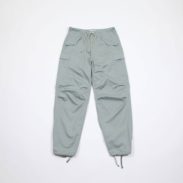 AURALEE LIGHT FINX POLYESTER FATIGUE PANTS [A9SP02PW]