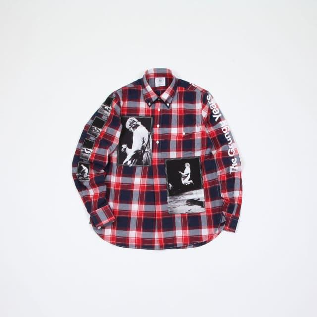 TAKAHIROMIYASHITATheSoloIst. pullover B.D shirt. [sjs.0001]