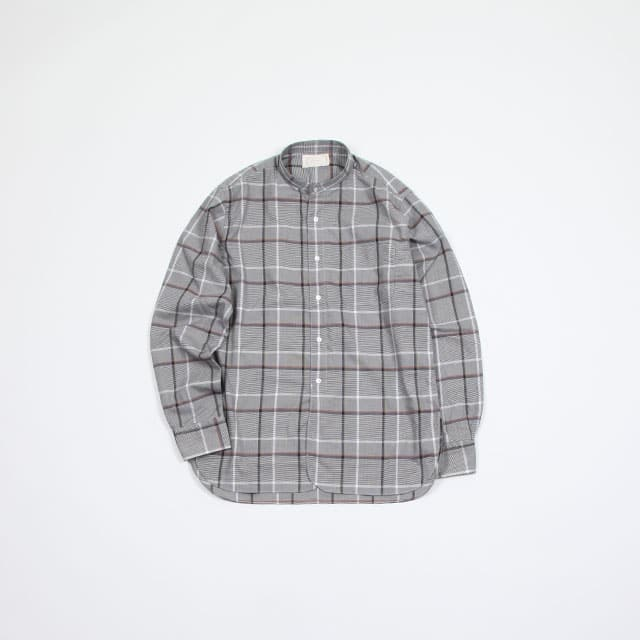 cantate Band Collar Shirt [19SSCA0147]