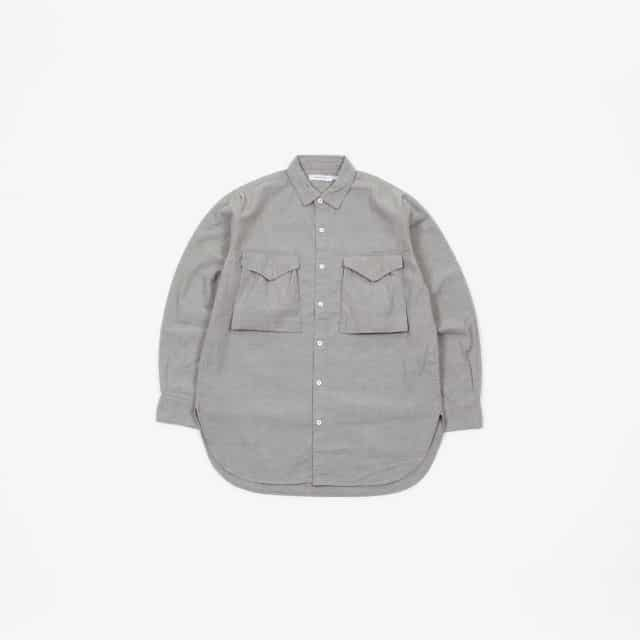 nonnative HUNTER LONG SHIRT COTTON 5oz CHAMBRAY [NN-S3511]