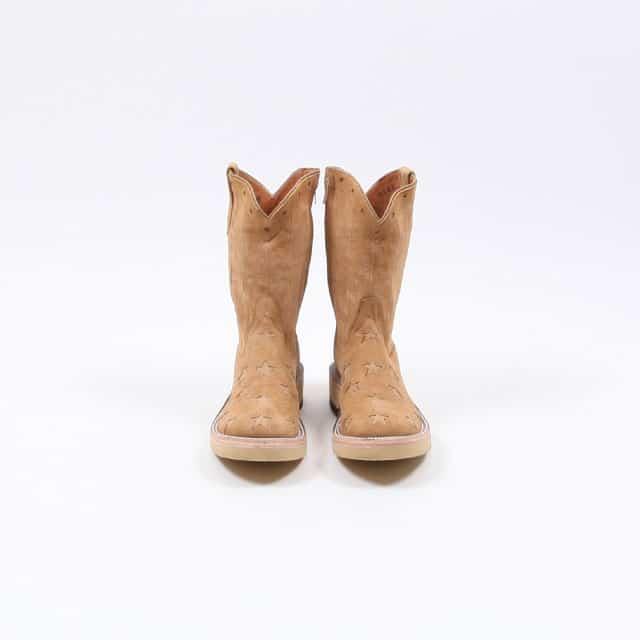 TAKAHIROMIYASHITATheSoloist. star&stripes roper boots. beige [srf.0003]