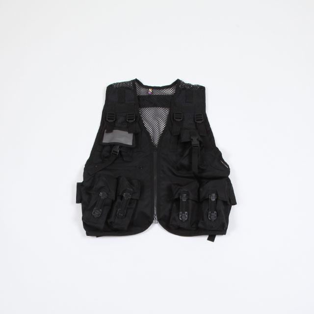 is-ness TACTICAL VEST BLACK [30SSVS01]