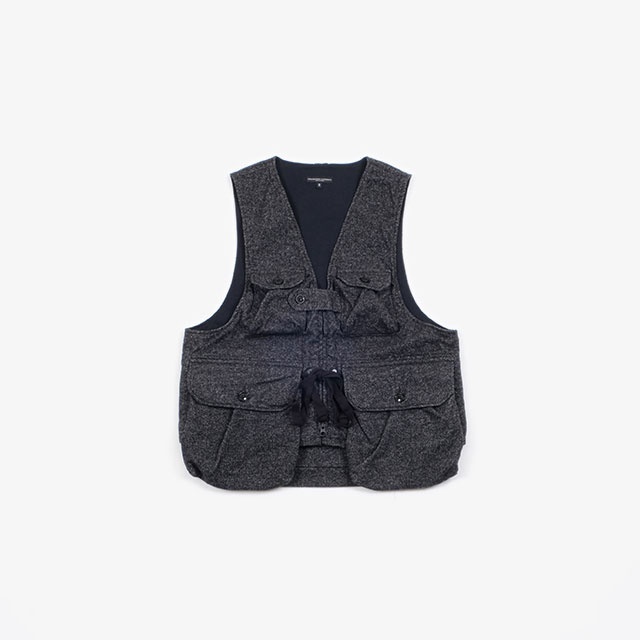 Engineered Garments Game Vest – Blend Homespun Grey [FG202]