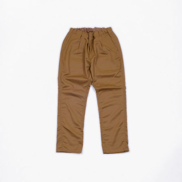 nonnative DWELLER EASY PANTS RELAX FIT WOOL TWILL [NN-P3626]