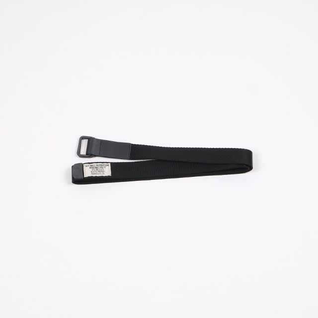 N.HOOLYWOOD YOSHIDA BELT BLACK [TPES-AC01-pieces]