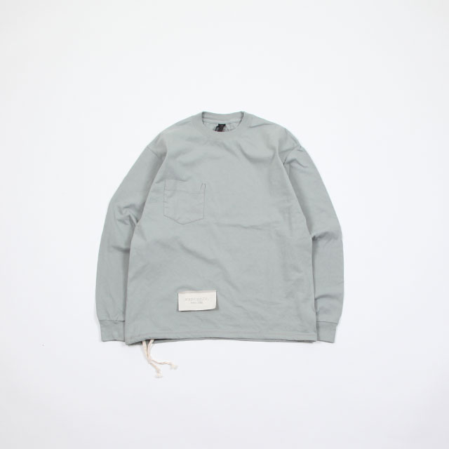 HESTRADA Gee-Wiz L/S SWITCH with POCKET TEE W/ATHLETIC SHOE LACE [310]