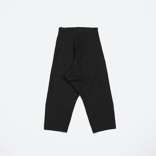 O project LOOSE FIT TROUSERS CANVAS [08TR2]