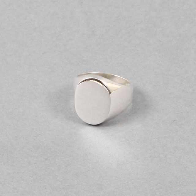 LAVER Oval Signet Ring [no.38]