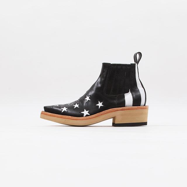 TAKAHIROMIYASHITATheSoloist. star&stripes chelsea boots. [srf.0004]