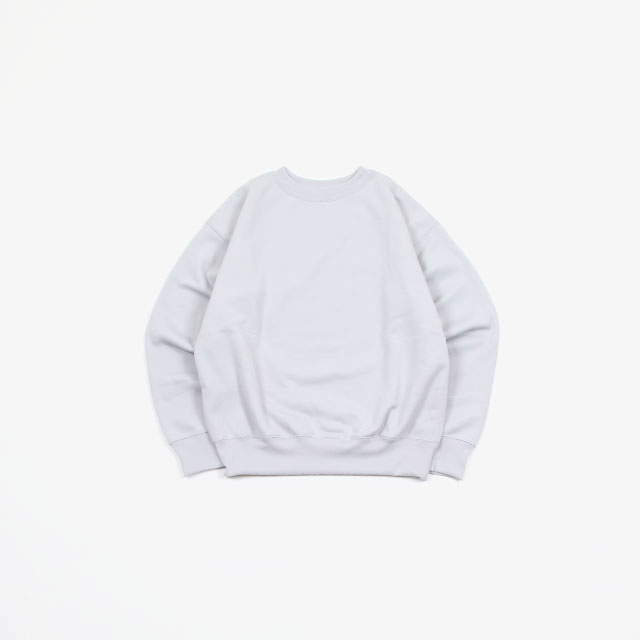 AURALEE POLYESTER SWEAT P/O [A20SP02PU]