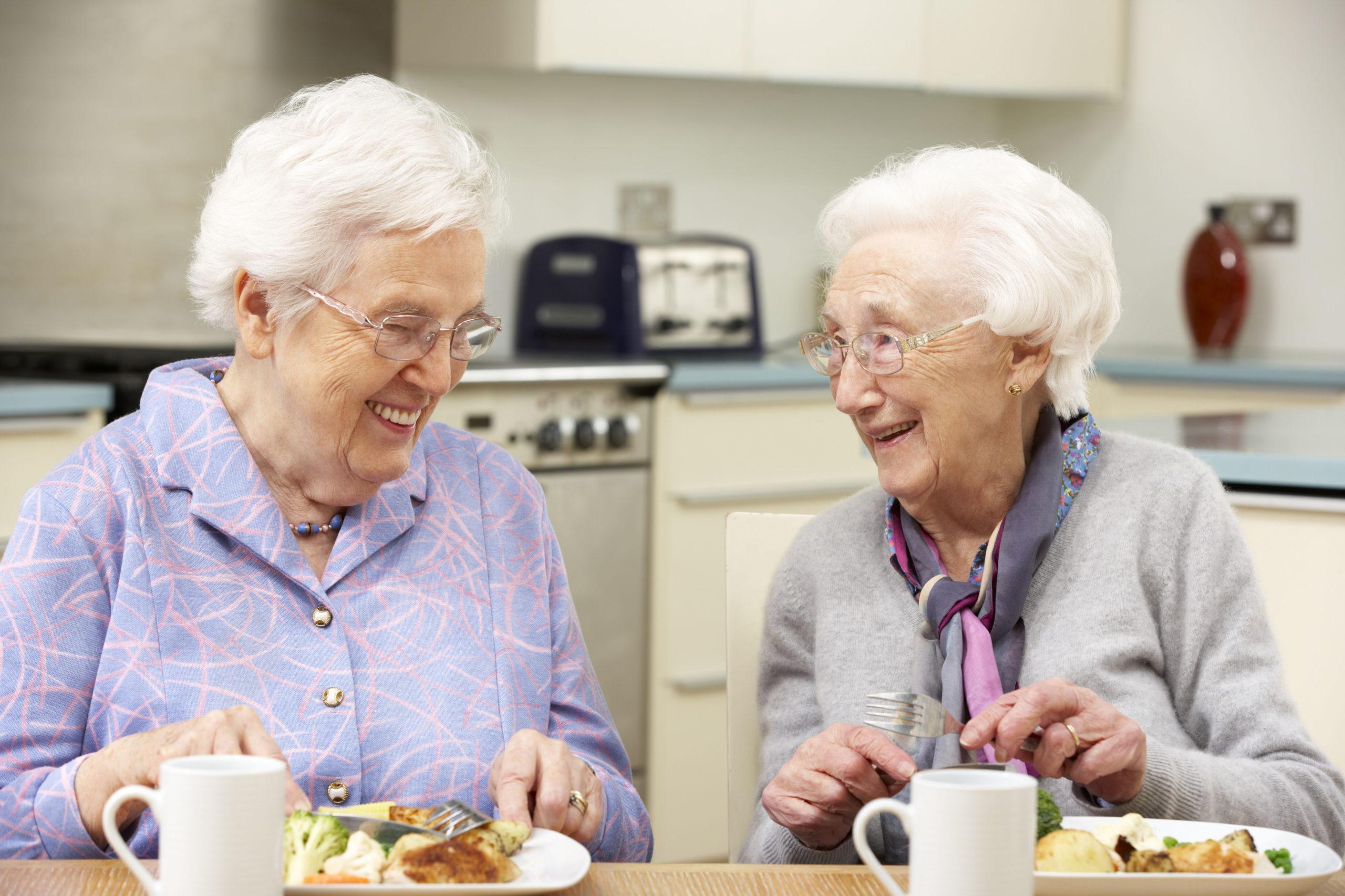 Ältere Menschen bekommen oft zu wenig Vitamine