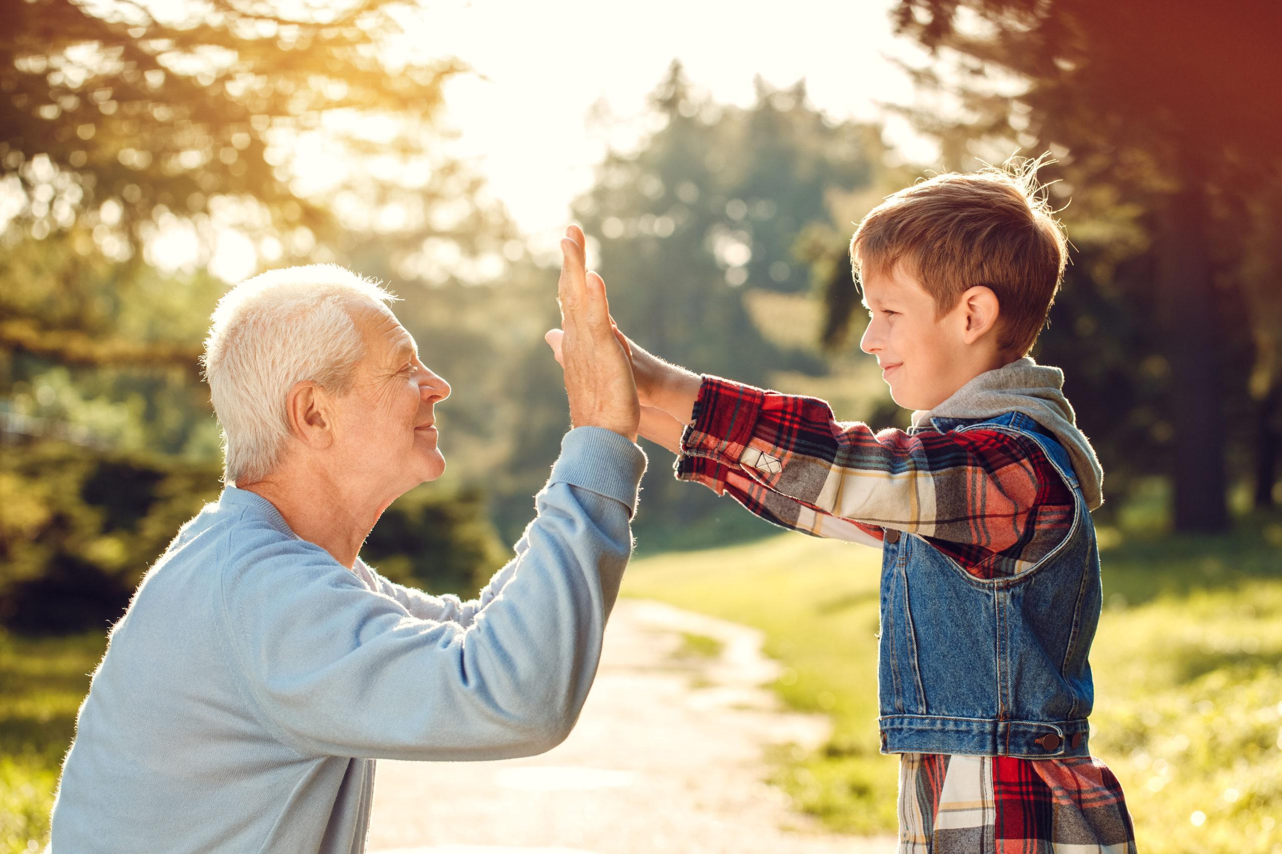 Gelenkfitness für Großeltern
