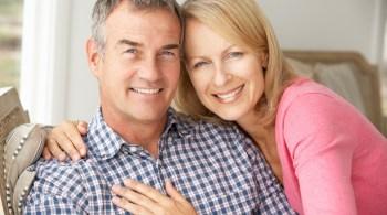 Reiferes Paar voller Vitalität und Leistungskraft