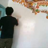 壁塗り・その2