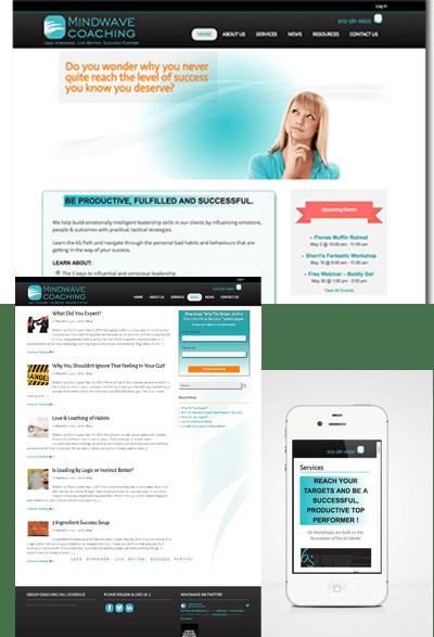 Mindwave website case study