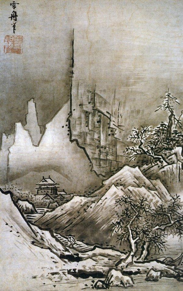 Winter Landscape Sesshu Toyo
