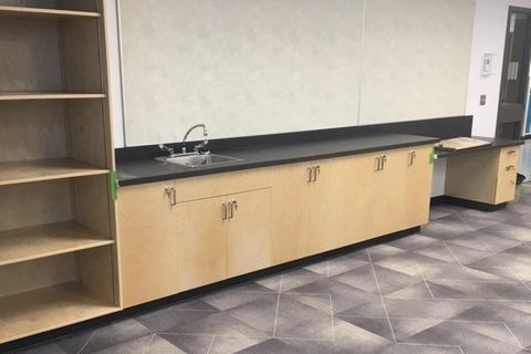 Commercial Cabinet Installations