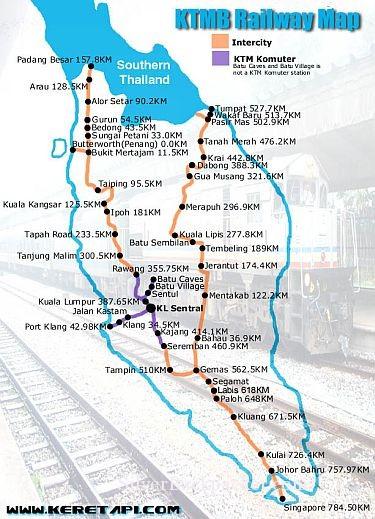 Jungle Railway Gemas To Kuala Lipis