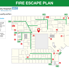 Example Of Fire Exit Diagram Pontiac Grand Prix Wiring Evacuation Plans For Healthcare Silverbear Design