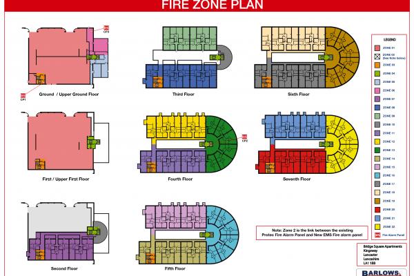 Fire Alarm Zone Plan
