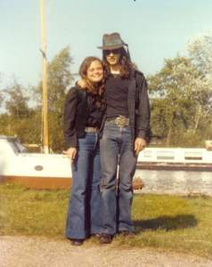 Morgana and Merlin Sythove, The Netherlands 1978
