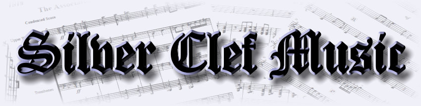 Silver Clef Music website Banner