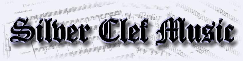 Silver Clef Music website Banner