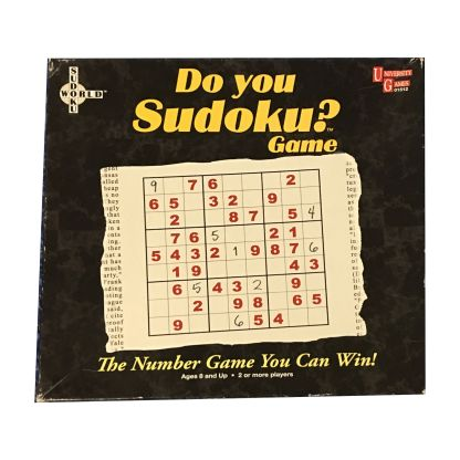 Do You Sudoku? board game front