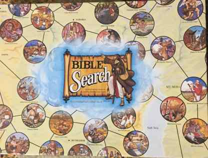 Bible Search Board Game