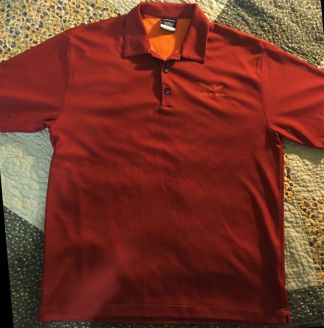 Nike Burnt Orange Golf Shirt