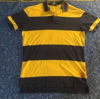 Yellow and Blue Polo by Ralph Lauren Shirt