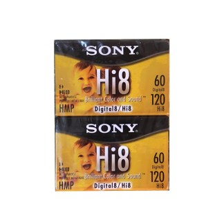 Sony Hi8 Tapes