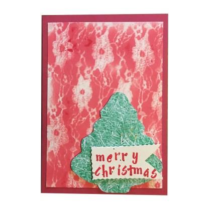 Merry Christmas Handmade Christmas Card