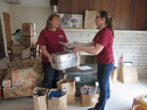 Caregivers Decluttering and Dementia