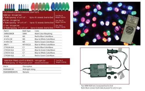 small resolution of  led rope light snowflakes colorwave color changing light sets