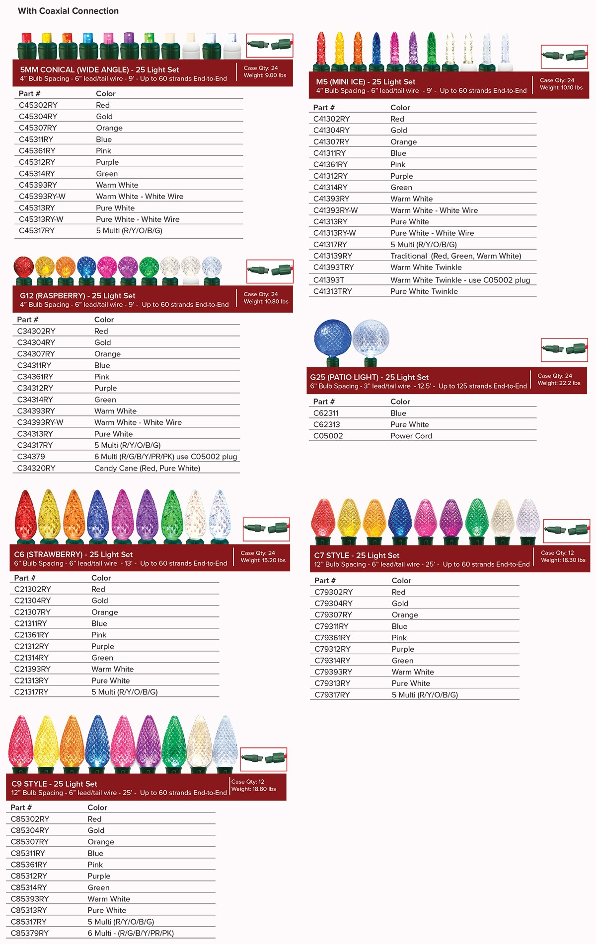 hight resolution of  light sets commercial grade wire sockets plugs installation accessories