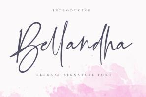 Bellandha - Elegant Signature Font