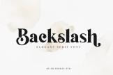 Last preview image of Backslash