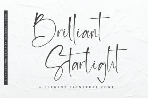 Brilliant Starlight - Elegant Signature Font